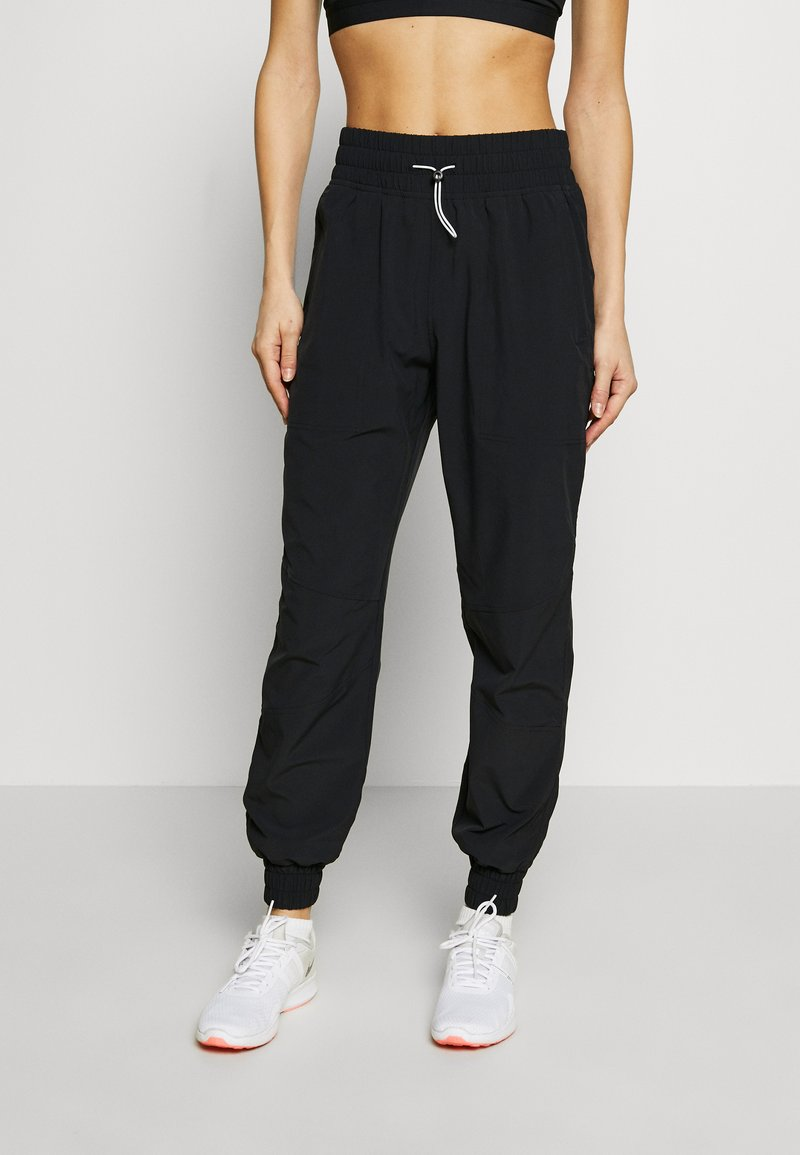 Under Armour - RECOVER PANTS - Verryttelyhousut - black/onyx white