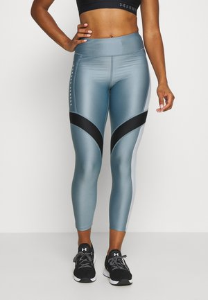 SPORT ANKLE CROP - Legginsy - hushed turquoise/halo gray