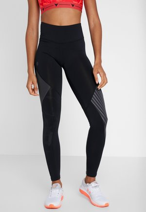RUSH EMBOSSED LEGGINGS - Legging - black/jet gray