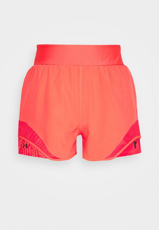 PROJECT ROCK TRAIN SHORTS - Short de sport - rush red/black