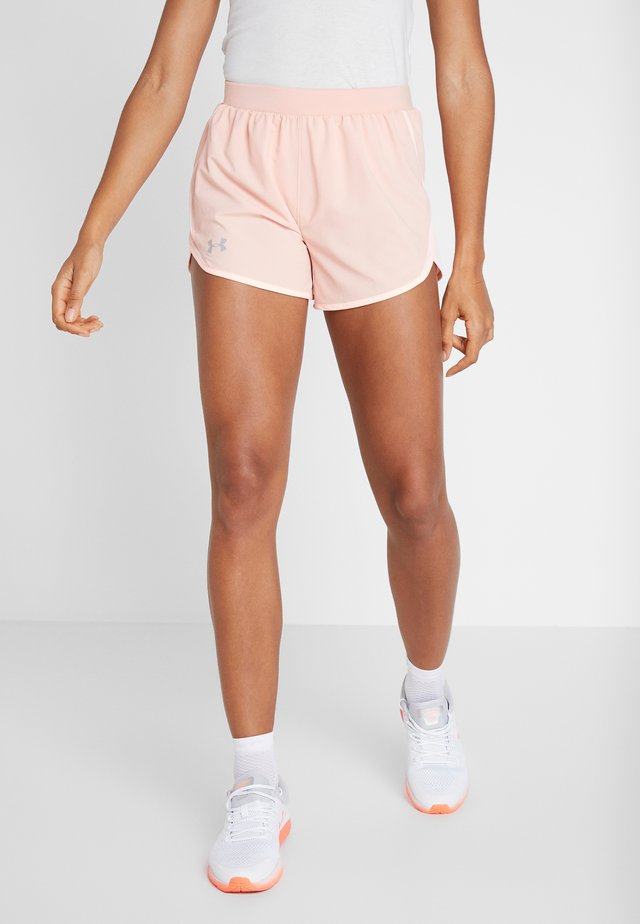 FLY BY SHORT - Short de sport - calla/peach frost