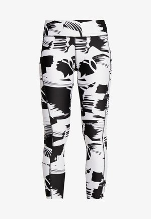PRINTED ANKLE CROP - Punčochy - black/white