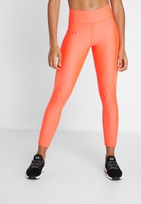 Under Armour - TONAL ANKLE CROP - Leggings - neon pink - 0