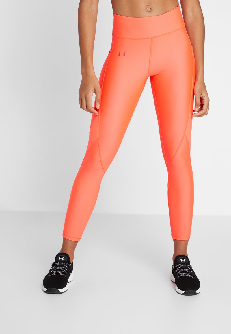 Under Armour - TONAL ANKLE CROP - Leggings - neon pink