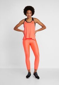 Under Armour - TONAL ANKLE CROP - Leggings - neon pink - 1