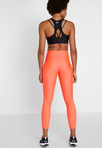 Under Armour - TONAL ANKLE CROP - Leggings - neon pink - 2