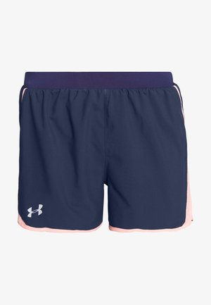 FLY BY SHORT - Short de sport - blue ink/peach frost