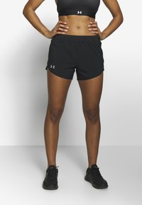 Under Armour - FLY BY SHORT - Sports shorts - black - 0