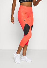 Under Armour - KAZOKU RUSH CROP - Leggings - beta/gold - 0