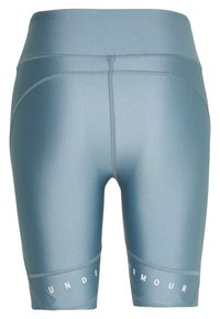 Under Armour - GRAPHIC BIKE SHORTS - Legging - hushed turquoise/halo gray/halo gray