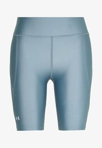 Under Armour - GRAPHIC BIKE SHORTS - Legging - hushed turquoise/halo gray/halo gray - 0