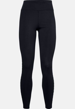 UA FAVORITE LEGGING BRANDED - Legging - black