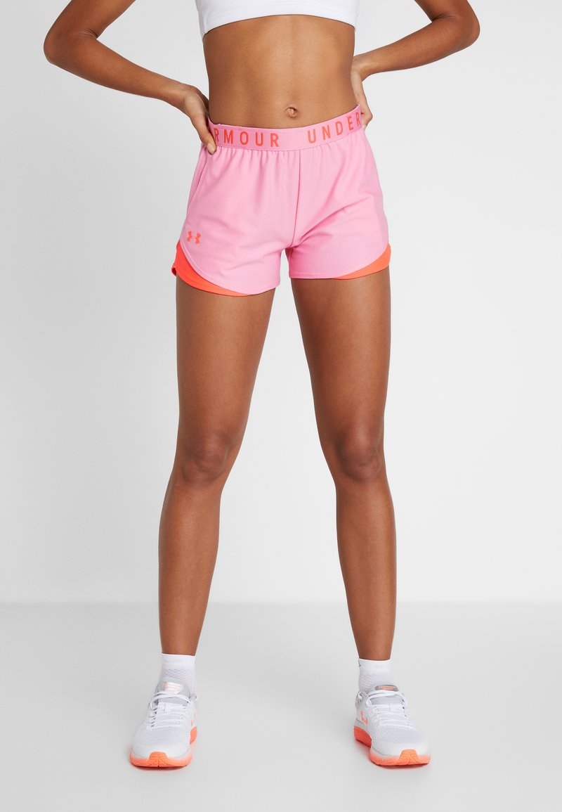 Under Armour - PLAY UP SHORT - Sports shorts - lipstick