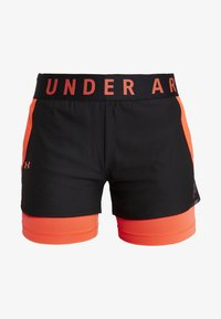 Under Armour - PLAY UP SHORTS - Pantalón corto de deporte - black - 4