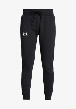 RIVAL FLEECE FASHION JOGGER - Träningsbyxor - black/black/onyx white