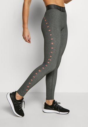 FAVORITE GRAPHIC LEGGING - Legging - charcoal light heather/black/beta