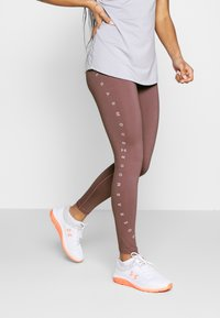 Under Armour - FAVORITE GRAPHIC LEGGING - Legging - hushed pink/dash pink - 0