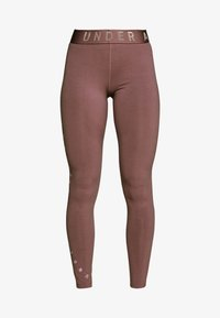 Under Armour - FAVORITE GRAPHIC LEGGING - Legging - hushed pink/dash pink