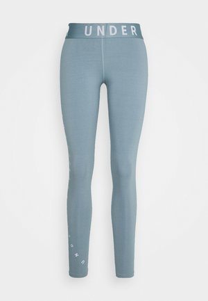 FAVORITE GRAPHIC LEGGING - Punčochy - hushed turquoise/halo gray/halo gray