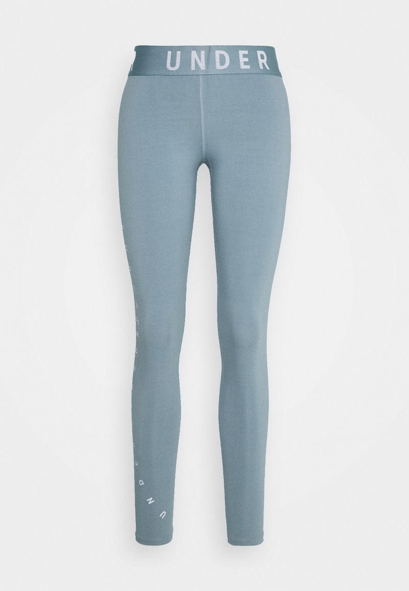 Under Armour - FAVORITE GRAPHIC LEGGING - Leggings - hushed turquoise/halo gray/halo gray