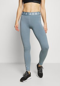 Under Armour - FAVORITE GRAPHIC LEGGING - Collant - hushed turquoise/halo gray/halo gray - 0