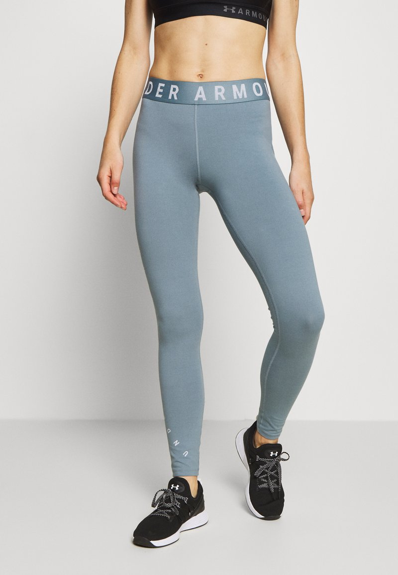 Under Armour - FAVORITE GRAPHIC LEGGING - Collant - hushed turquoise/halo gray/halo gray