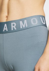 Under Armour - FAVORITE GRAPHIC LEGGING - Collant - hushed turquoise/halo gray/halo gray - 5