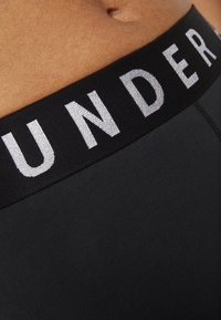 Under Armour - FAVORITE GRAPHIC LEGGING - Leggings - black/white - 5