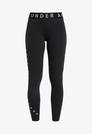 FAVORITE GRAPHIC LEGGING - Legginsy - black/white
