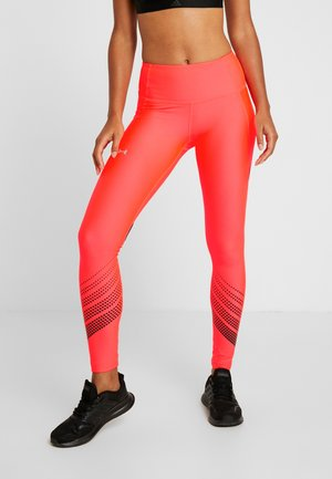 LEGGING - Legging - beta red/black/metallic silver
