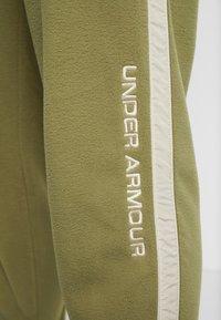 Under Armour - POLAR PANT - Outdoorbroeken - outpost green/elite beige/beta red - 5