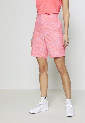LINKS PRINTED SHORT - Sports shorts - lipstick