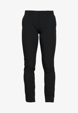 LINKS PANT - Bukser - black/mod gray