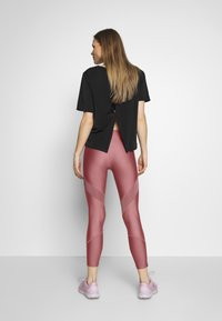 Under Armour - SHINE PERFORATION - Tights - hushed pink/dash pink - 2