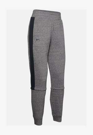 RIVAL TERRY  - Tracksuit bottoms - dark grey/black