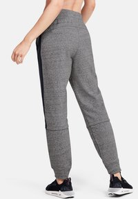 Under Armour - RIVAL TERRY  - Tracksuit bottoms - dark grey/black - 2