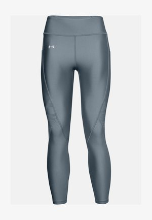 UA HG ARMOUR JCQD ANKLE CROP - Leggings - hushed turquoise