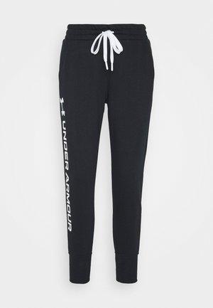 RIVAL SHINE JOGGER - Teplákové kalhoty - black