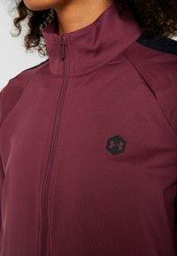 Under Armour - ATHLETE RECOVERY TRAVEL JACKET - Training jacket - level purple/black - 6