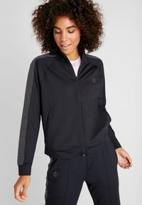 Under Armour - ATHLETE RECOVERY TRAVEL JACKET - Træningsjakker - black/jet gray - 0