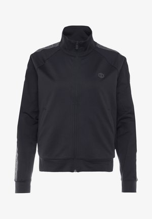 ATHLETE RECOVERY TRAVEL JACKET - Training jacket - black/jet gray