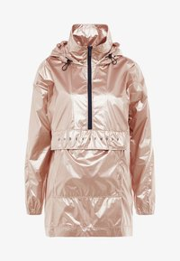 Under Armour - UNSTOPPABLE BEST 1/2 ZIP ANORAK - Training jacket - blush beige/black - 7