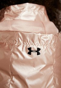 Under Armour - UNSTOPPABLE BEST 1/2 ZIP ANORAK - Training jacket - blush beige/black - 8