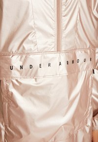 Under Armour - UNSTOPPABLE BEST 1/2 ZIP ANORAK - Training jacket - blush beige/black - 4