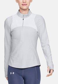 Under Armour - Bluzka z długim rękawem - off-white/grey - 1
