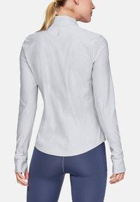 Under Armour - Bluzka z długim rękawem - off-white/grey - 2