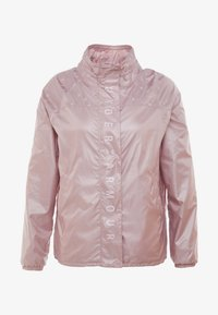 Under Armour - ATHLETE RECOVERY IRIDESCENT JACKET - Sports jacket - dash pink