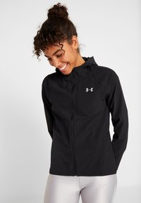 Under Armour - QUALIFIER OUTRUN THE STORM JACKET - Hardloopjack - black - 0