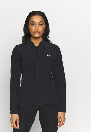 UA STORM LAUNCH JACKET - Kurtka sportowa - black