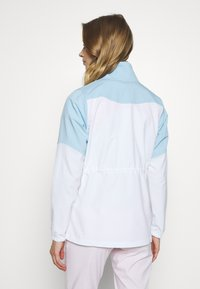 Under Armour - UA WINDSTRIKE FULL ZIP - Waterproof jacket - white/blue frost - 2